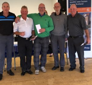 2019 Golf Day Winning Team from St Andrew's Hospice