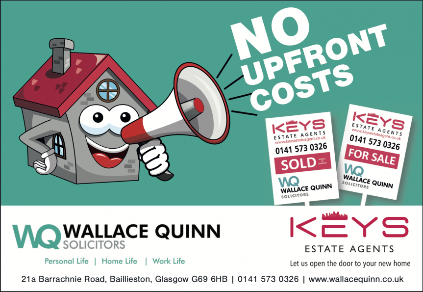 Wallace Quinn January estate agent offer